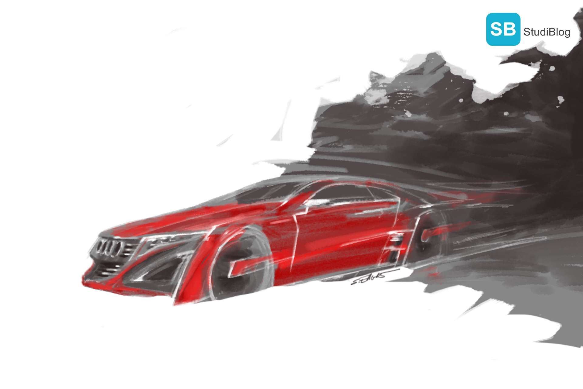 Audi Illustration – Interview Catrin Behres