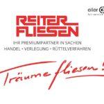 Reiter Fliesen Logo mit Schriftzug Träume fliesen