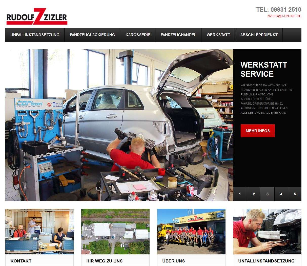 Zizler GmbH Otzing – Website